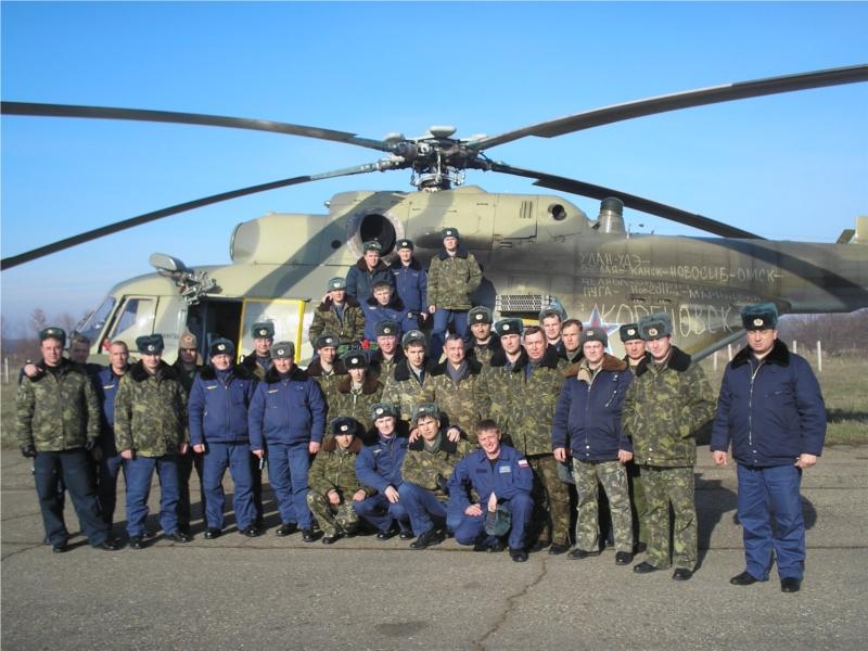 Вертолетчики с авиабазы Кореновск